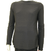 Slinky Jersey Black Shell with Long Sleeves